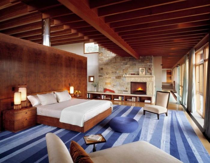romantisches-bett-moderne-schlafzimmer-gestaltung