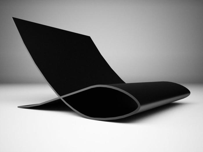 schickes-Modell-schwarzer-Stuhl-Designer-schick