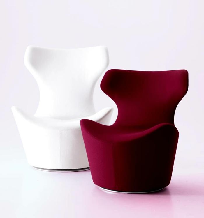 Sessel weiß  Sessel in Weiß: unpraktisch oder glamourös? - Archzine.net