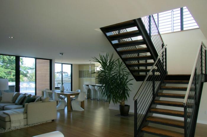einige originelle designs von stahltreppen. Black Bedroom Furniture Sets. Home Design Ideas