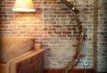 Extravagante Designs von Stehlampe aus Holz