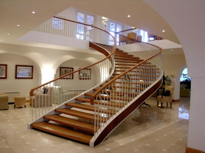 37 unikale beispiele f r modernes treppen design. Black Bedroom Furniture Sets. Home Design Ideas