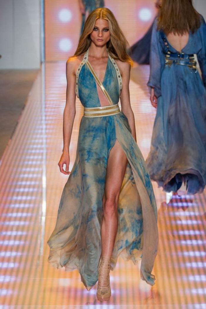 Abendkleider lang haute couture