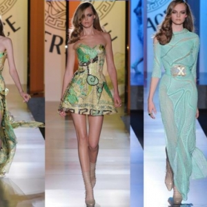 Spektakuläre Versace Kleider - Haute Couture