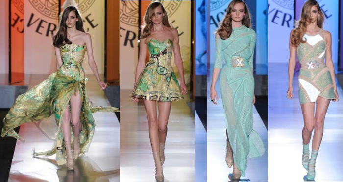 Spektakuläre Versace Kleider - Haute Couture - Archzine.net f7d3e46325
