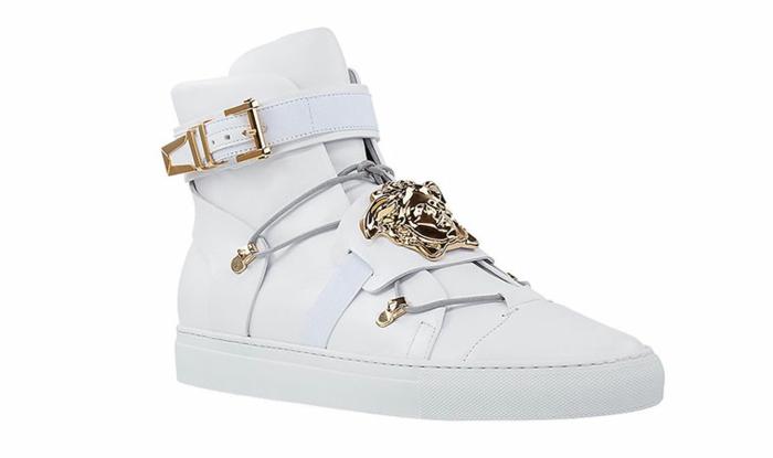 versace-schuhe-schönes-weißes-modell