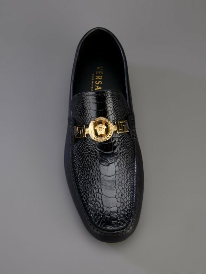versace-schuhe-schwarz-und-schick