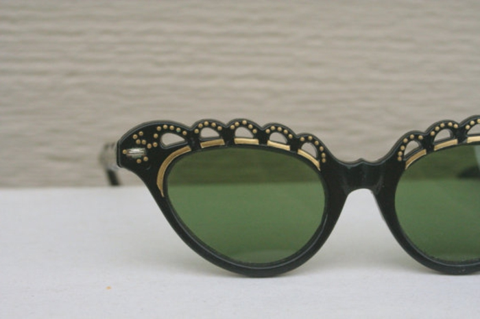 vintage-accessoires-brillen-grün