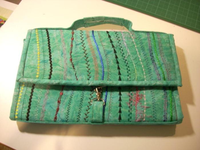 vintage-accessoires-grün-tasche