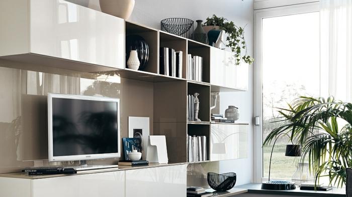 Schön Ultramoderne Ausstattung   Wandschrank Für Wohnzimmer