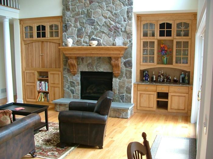 wandschrank-für-wohnzimmer-hölzerne-möbelstücke