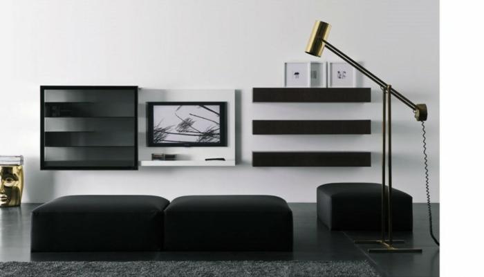 wandschrank-für-wohnzimmer-interessante-gestaltung-schwarze-möbel
