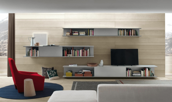 Fantastisch Moderne Dekoration Wohnwand Weis Images Awesome Wohnzimmermbel Landhausstil  Weiss Ideas