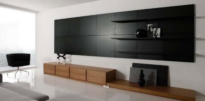 wandschrank-für-wohnzimmer-interessante-schwarze-gestaltung