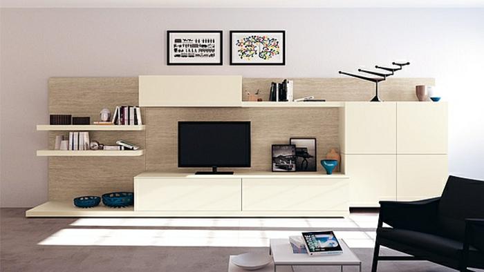 wandschrank-für-wohnzimmer-schöne-weiße-gestaltung