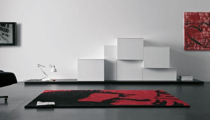 wandschrank-für-wohnzimmer-schöne-weiße-wand