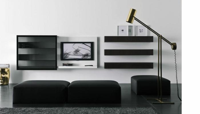 wandschrank-für-wohnzimmer-schwarze-gestaltung