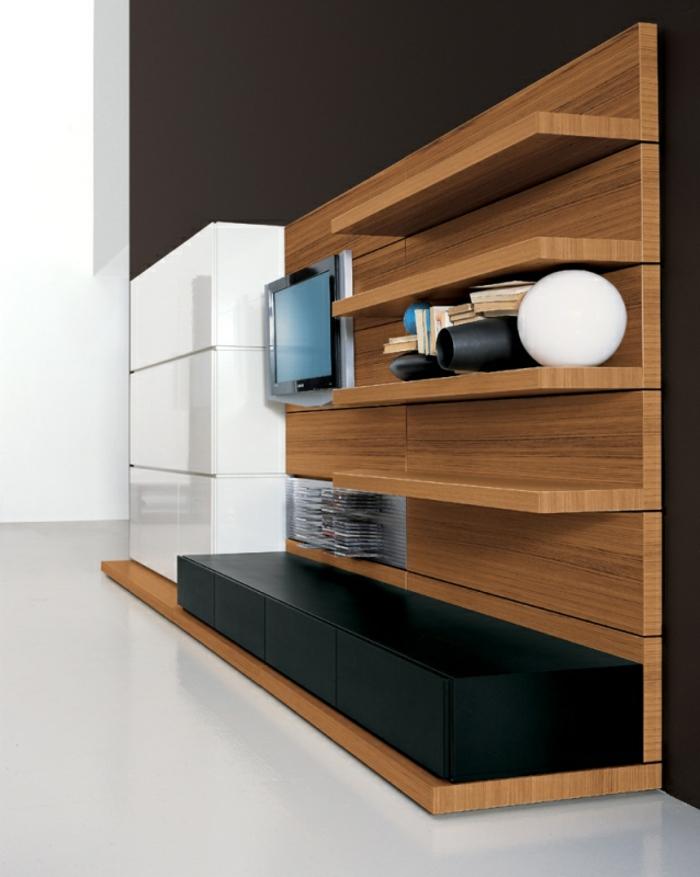 75 super Modelle von Wandschrank für Wohnzimmer ...