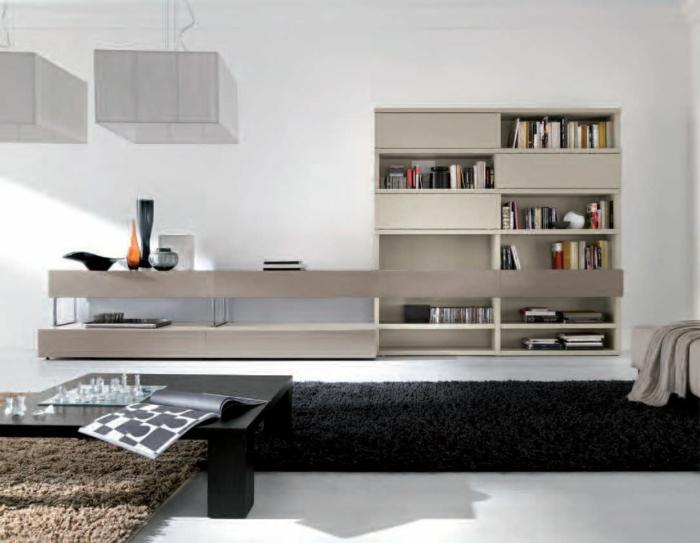 wandschrank-für-wohnzimmer-weiße-interessante-wand