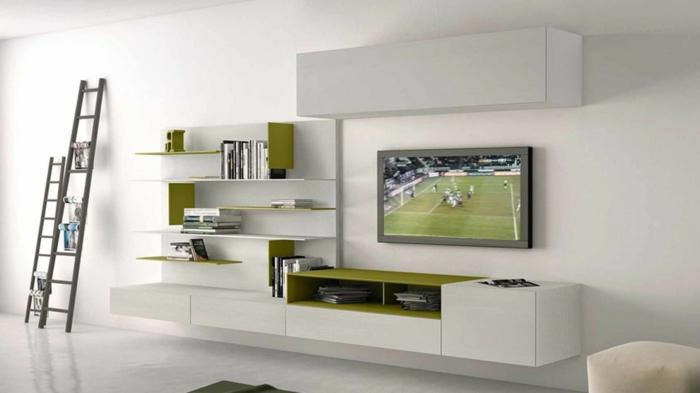 wandschrank-für-wohnzimmer-weiße-minimalistische-ausstattung