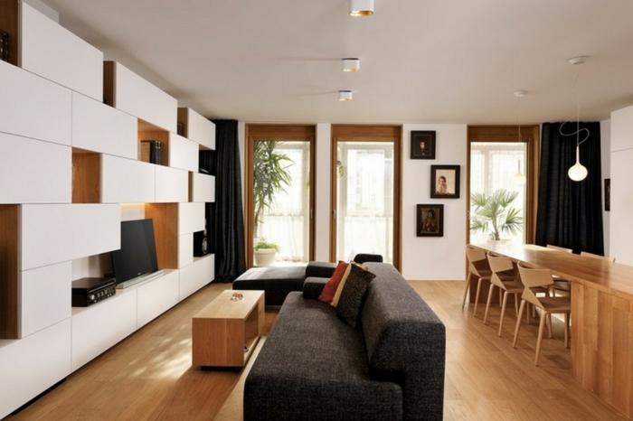 75 super modelle von wandschrank f r wohnzimmer - Wandschrank wohnzimmer ...