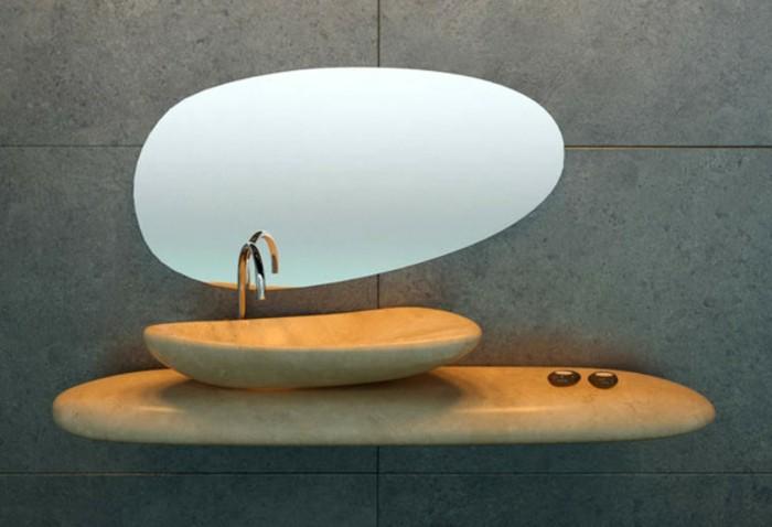 waschbecken-aus-stein-interessanter-spiegel-darüber