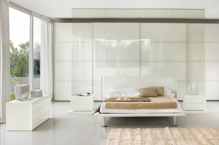 90 Wunderschöne Weiße Betten! - Archzine.net Schlafzimmer Gestalten Weie Mbel