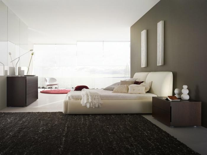 weiße-betten-schwarzer-teppich
