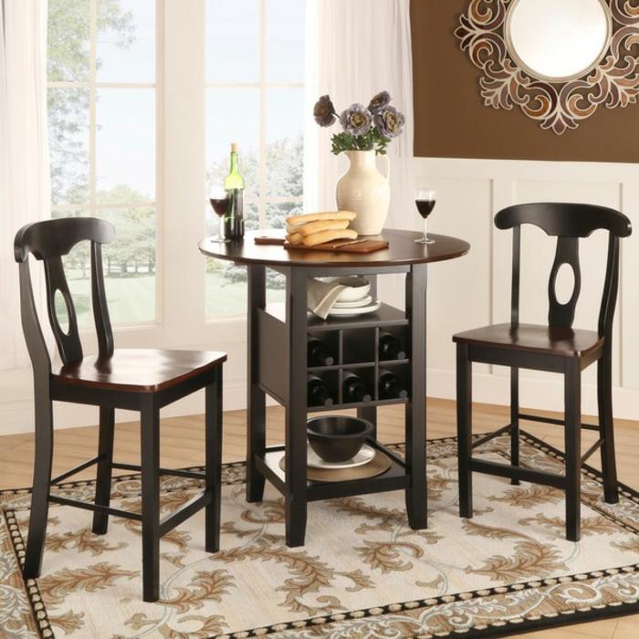 einige fotos von traditionellem bistrotisch. Black Bedroom Furniture Sets. Home Design Ideas