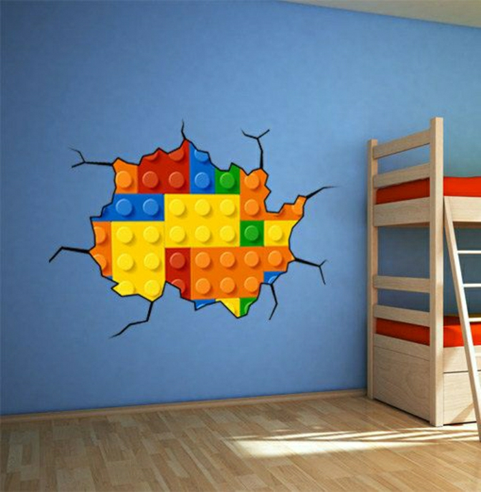 Bricks-On-Wall-Wandsticker-originelle-Idee