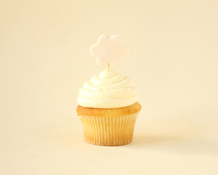Cupcakes-Macaron-Vanille-Dekoration