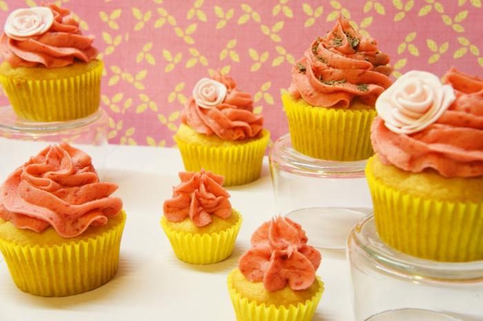 Cupcakes-aus-Vanille-Himbeeren-Buttercreme