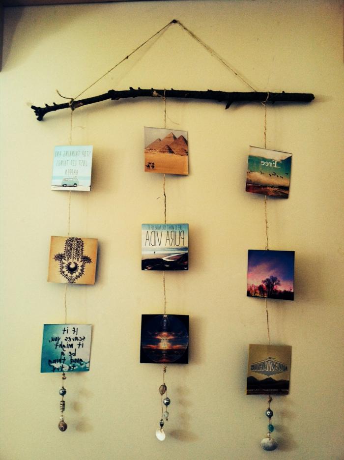 Dekoartikel-in-boho-stil-Mobile-hängende-Wanddeko