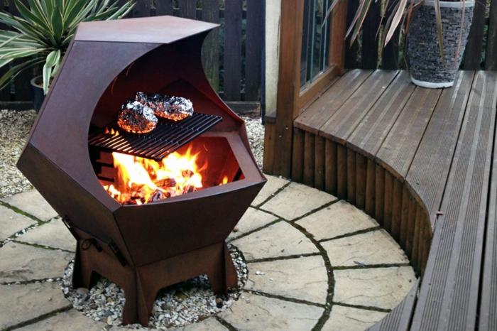 Interessante Varianten Für Feuerschale Mit Grill