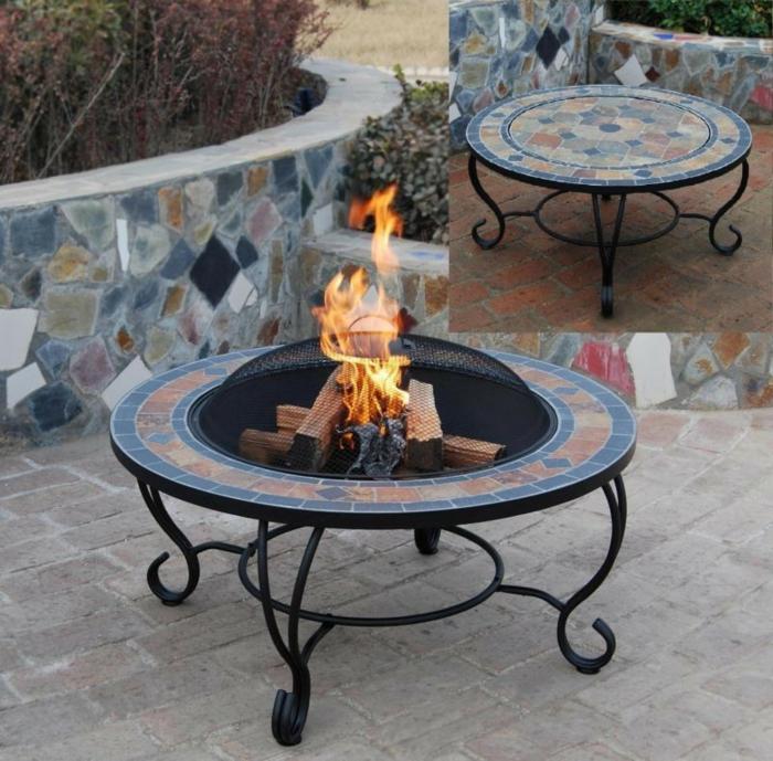 Feuerschale-mit-Grill-mozaik-auch-tisch