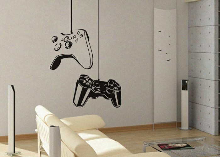 Game-On-Wandsticker-originelle-Idee