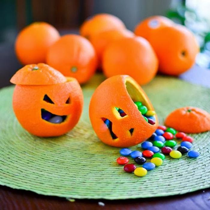 Halloween-Süßigkeiten-bunte-bonbons