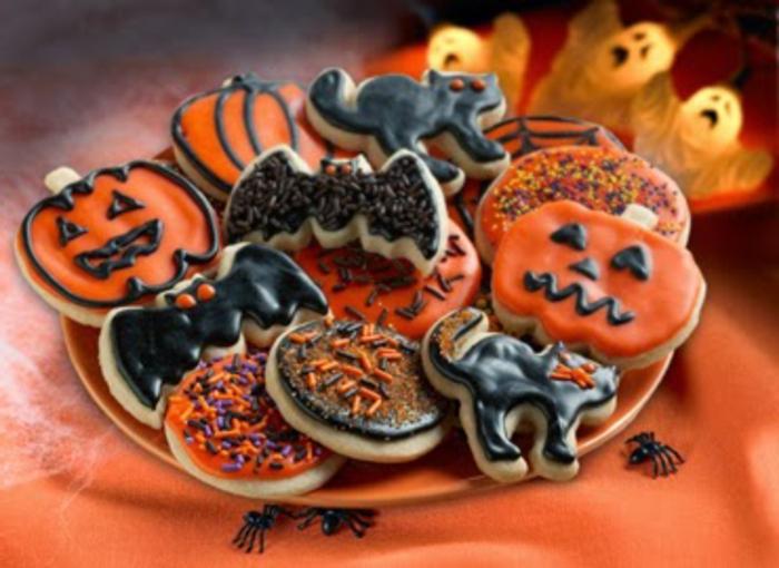 Halloween-Süßigkeiten-weiß-schokolade