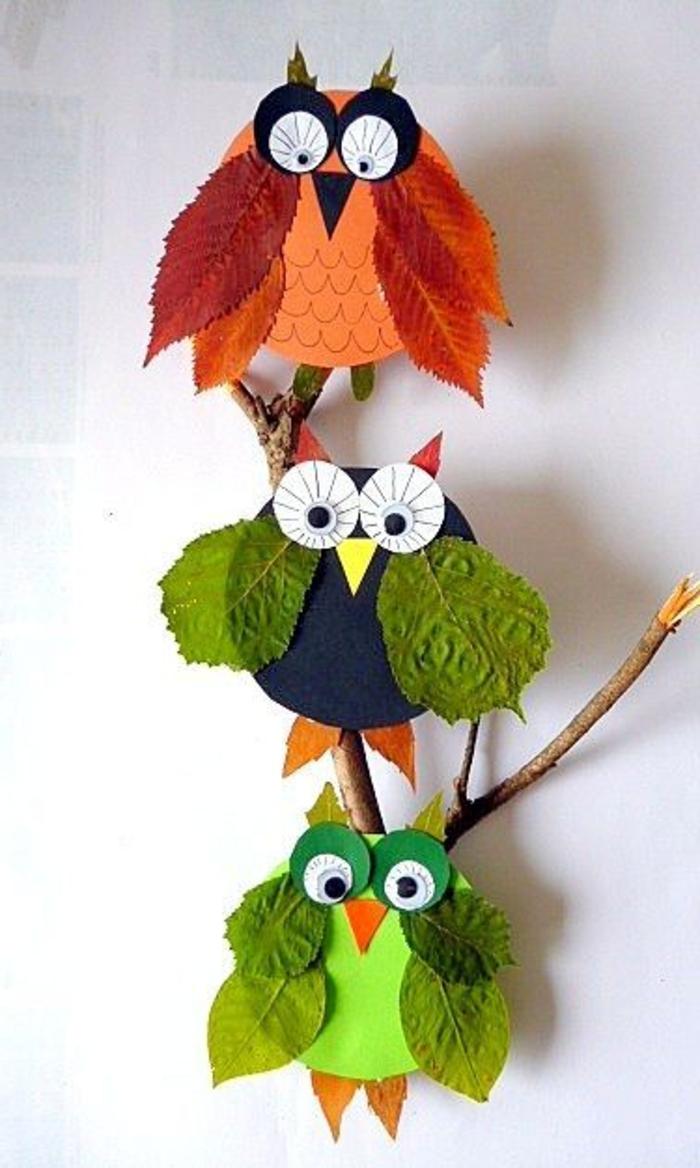 Inspirierende Ideen Fur Herbstbasteln Mit Kindern Archzine Net