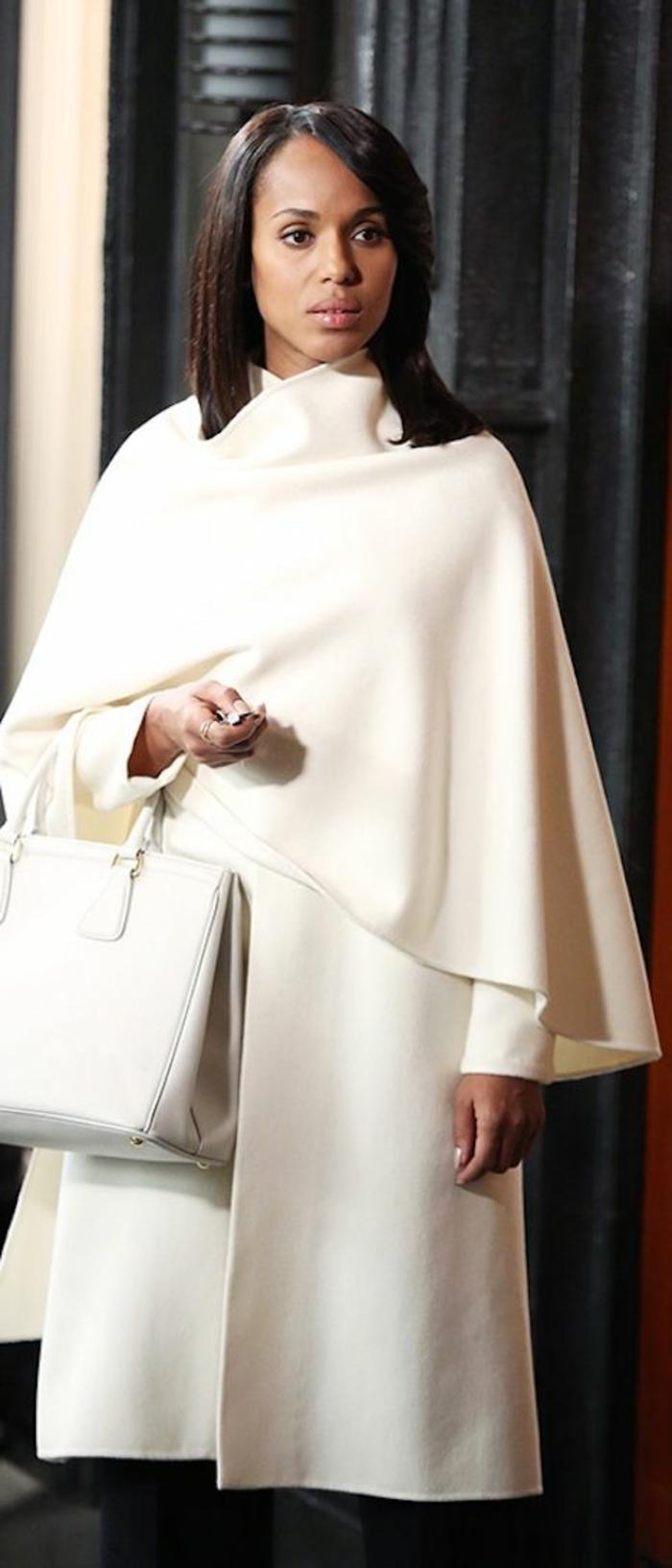Kerry-Washington-Marielle-Collection-Mantel-weiß-einzigartiges-Modell-elegant-stilvoll