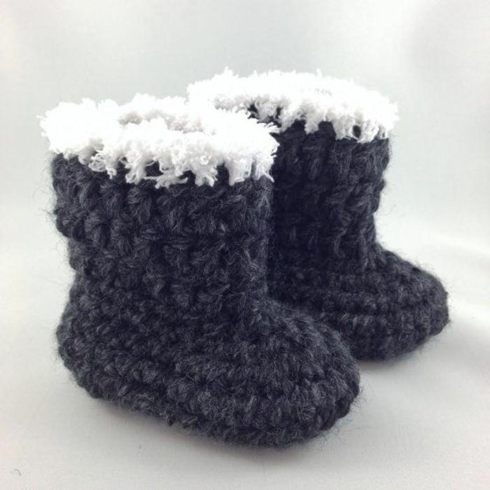 Kinder-Schuhe-Wolle-Hausschuhe-Wintermodell