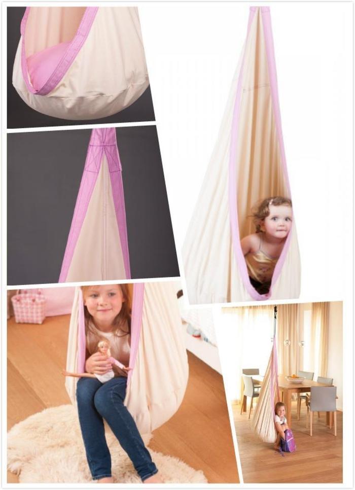 Kinderschaukel-aus-stoff-rosig-kissen