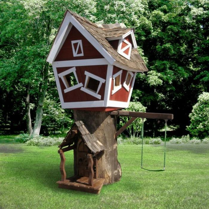 Kinderschaukel-baum-und-baumhaus