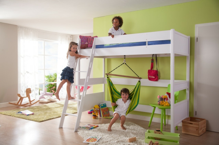 Kinder schaukel-für-innenbereich-hängematte-für-hochbett
