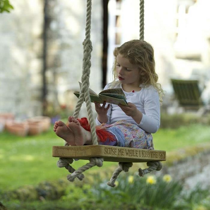 Einmalige Kinderschaukel Ideen und Inspirationen