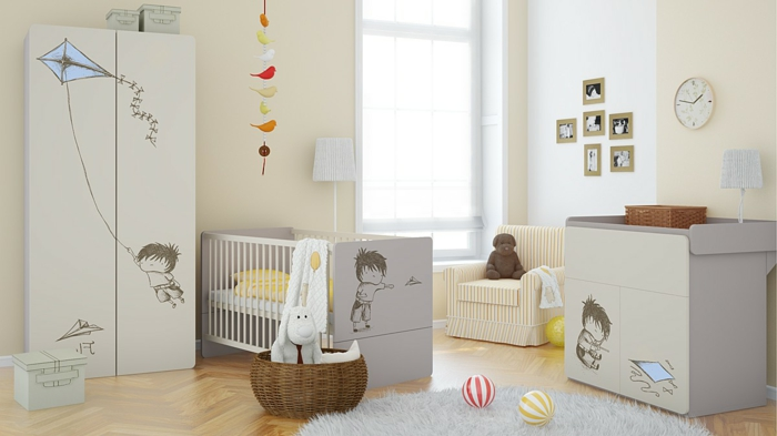 babyzimmer gestalten und dekorieren. Black Bedroom Furniture Sets. Home Design Ideas