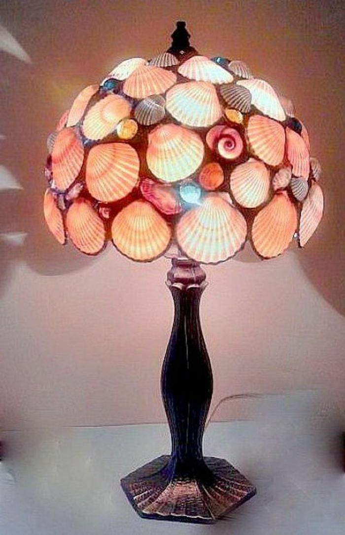 Nachttischlampe-Muscheln-Dekoration-herrlich