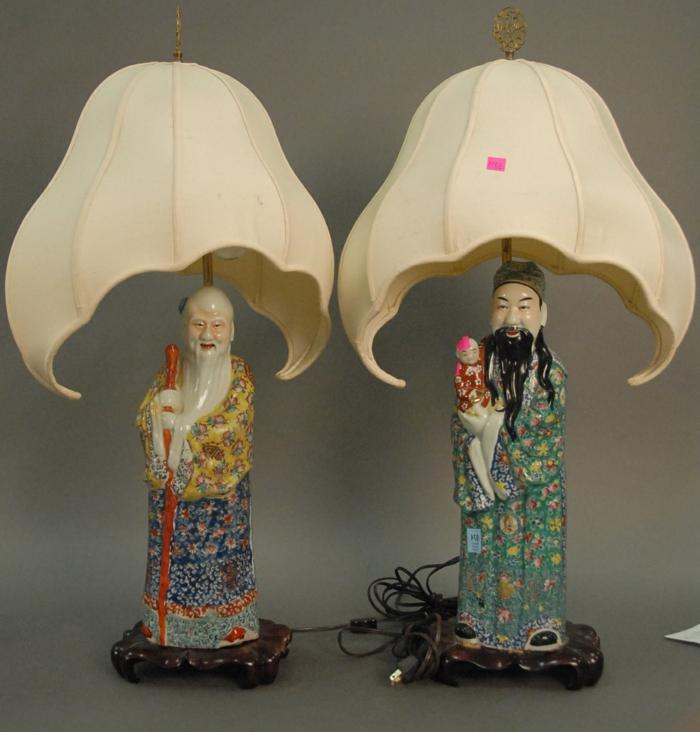 Nachttischlampen-chinesische-Porzellanfiguren-exotisch-asiatisch