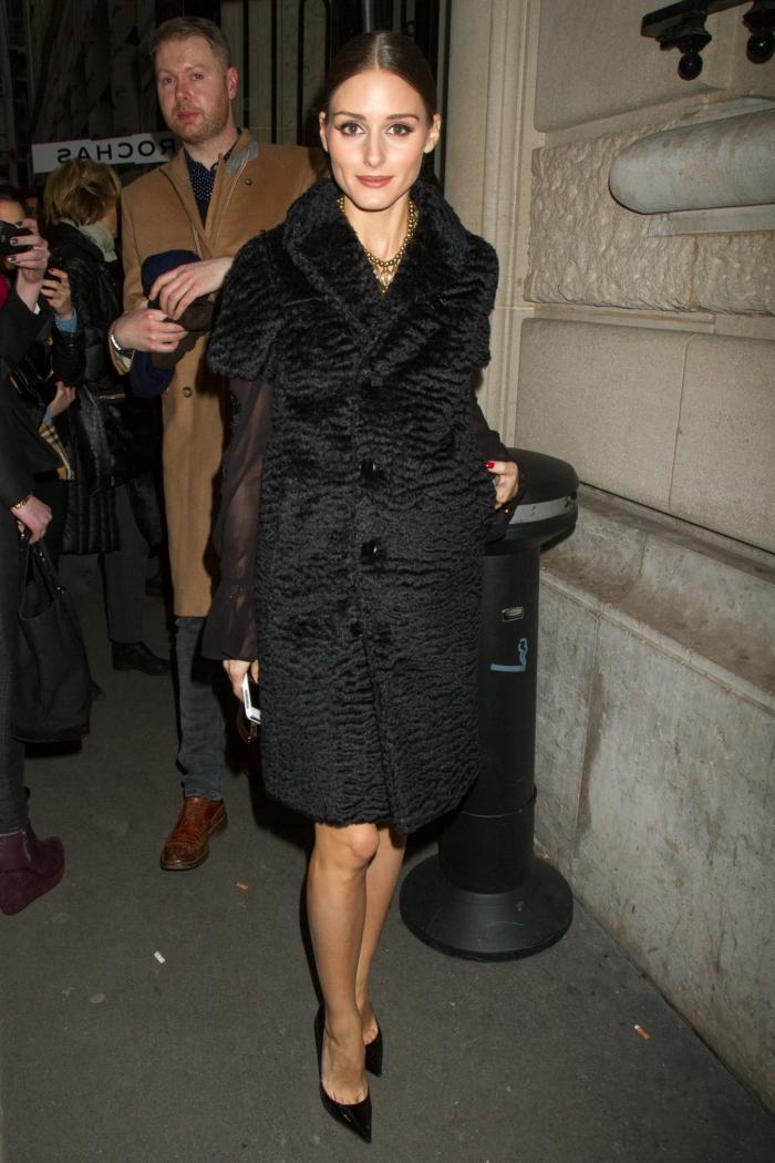 Olivia-Palermo-extravagantes-Modell-Mantel