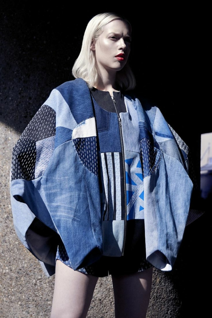 Poncho-Denim-Patchwork-originell-kreativ